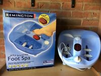 Remington Sole Soother Foot Spa