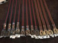 Designer belts (lv, Hermes, Gucci, ect.)