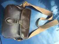 Leather cartridge shooting bag