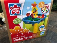 Sand and water table - BRAND NEW - in unopened box