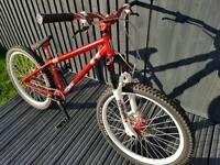 Identiti custom build high spec jump bike