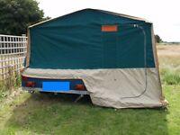 Raclet Solena 2 berth camper