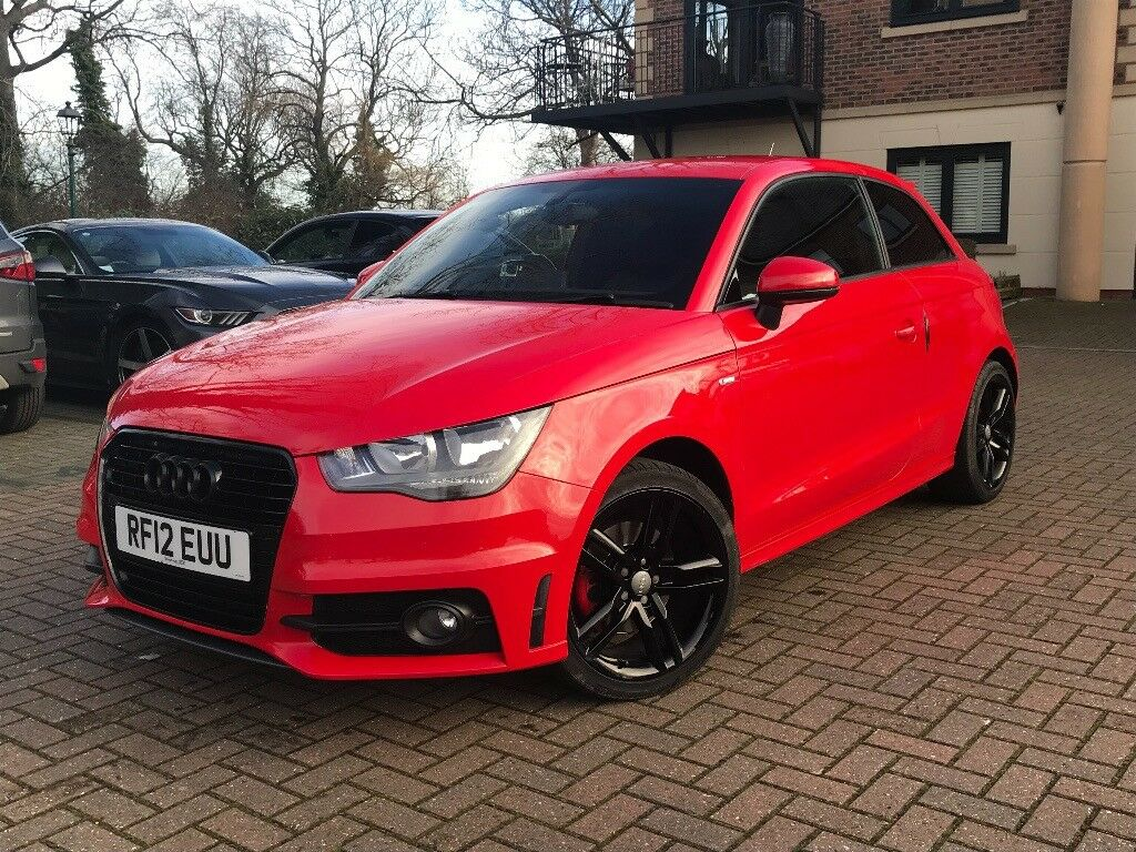 audi a1 1 4 s line tfsi automatic 2012 in mint condition. Black Bedroom Furniture Sets. Home Design Ideas
