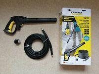 Karcher HK12 High Pressure Hose Kit & Trigger Gun Quick Connect.