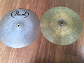 Pearl Hi Hat Cymbals - To Clear
