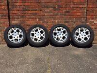 Ford Transit Van alloy wheels, borbet H rims, extra load wheels 5x160 RARE