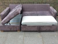 Corner sofa bed & Single sofa John Lewis *****Bargain £249 only