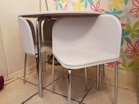 Argos Hygena Amparo Dining Table and 4 Chairs - White