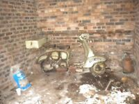 Lambretta or vespa wanted anything considered Cash waiting