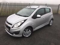 2013 13 CHEVROLET SPARK 1.2 LTZ 5 DOOR HATCHBACK - *£30 PER YEAR TAX, JULY 2018 M.O.T* - CLEAN!
