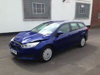 2017 FORD FOCUS STYLE ECONETIC 1.5 TDCI ESTATE BLUE DAMAGED SALVAGE REPAIRABLE