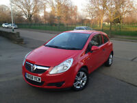 VAUXHALL CORSA 2008 IN MINT CONDITION. FULL SERVICE HISTORY. 1 YEAR MOT . SUPERB DRIVE . BARGAIN