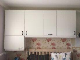 Bedroom/Kitchen Wall Cupboards
