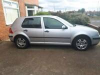 VW Golf 2003 spares or repairs starts and drives , out of MOT by 2 weeks