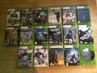 Xbox 360 various games- some now sold