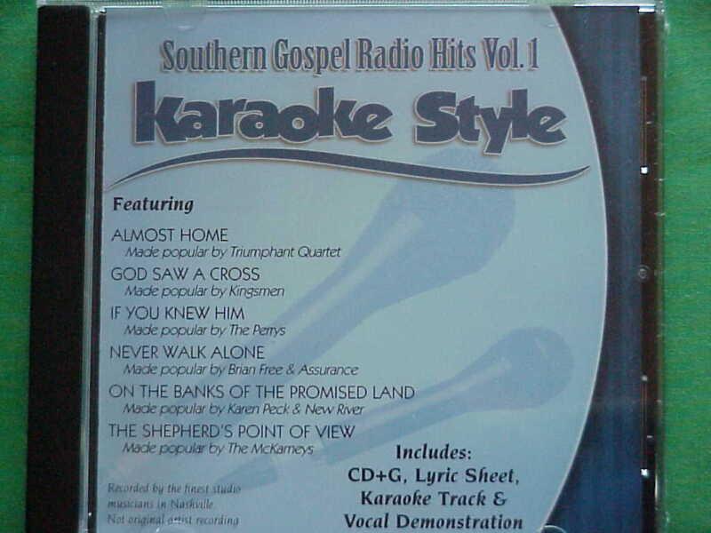 Southern Gospel Radio Volume #1  Christian  Daywind  Karaoke Style  CD+G Karaoke