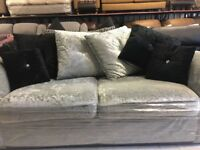 Large Grey Corner Suite & Matching 2 Seater