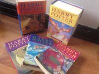 5 Harry Potter books
