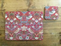 6 William Morris Table/ Place Mats and Coasters