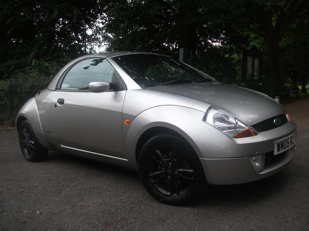 FORD STREETKA 1.6i Winter Edition 2dr ROOF OFF