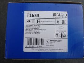 Pagid T1653 Front Brake pad set - NEW - still security sealed