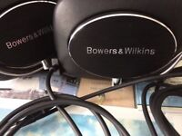 BOWERS AND WILKINS WIRELESS BLUETOOTH P7 HEADPHONES