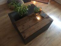 Unique Industrial Coffee Table