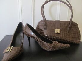 Clarks shoes and bag