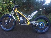 Sherco 290 trial bike