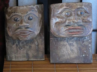 Vintage Polynesian Wood Carvings… interesting collector's item...