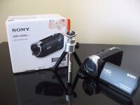 Sony HDR CX240 Full HD Camcorder Black FREE Vivitar tripod 2 months old youtube