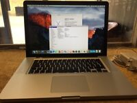 Macbook Pro 15 Unibody 2.4GHz 8GB RAM 500GB HDD Working Great