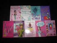 BUNDLE OF 9 BOOKS, JACQUELINE WILSON, MEG CABOT, TEEN IDOL, MUM DETECTIVE,