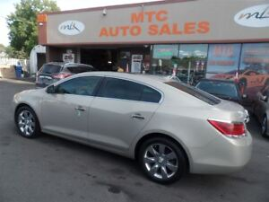 2010 Buick LaCrosse CXL, LEATHER, PAN SUNROOF