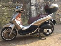 FULLY WORKING 2012 Piaggio Beverly ie 300cc scooter 300 cc