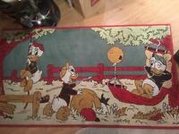 Huey, Dewey and Louie Duck carpet