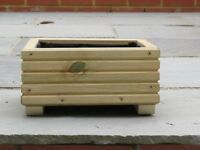 Small wooden garden planter. Ideal for herbs and other small plants. £10