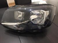 VW transporter headlight