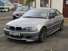 05/55 BMW 320 CD 2.0 Diesel Coupe 2dr, Metallic Grey**6 Speed, Service History, 12 Months MOT**