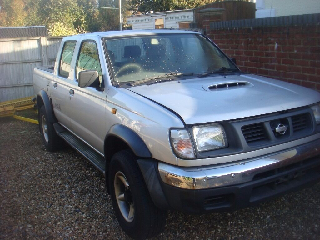 nissan d22 double cab pick up 2 5 diesel 1999 2000 in milford surrey gumtree. Black Bedroom Furniture Sets. Home Design Ideas