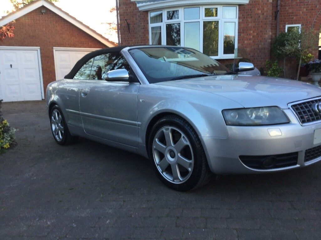 audi s4 v8 convertible in wirral merseyside gumtree. Black Bedroom Furniture Sets. Home Design Ideas
