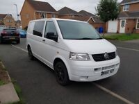 VW Transporter T5 (Partially Converted)