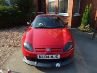 MG TF convertable for sale