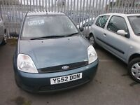 LOW MILEAGE FORD FIESTA 1.2 FSH 1 OWNER