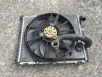 Renault Clio sport 172 radiator + cooling fan
