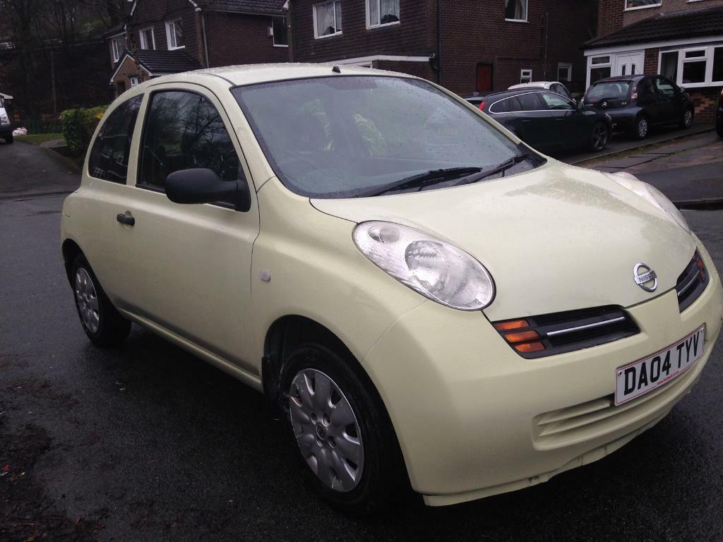 nissan micra s 2004 3 door hatchback in white cream petrol in westhoughton manchester gumtree. Black Bedroom Furniture Sets. Home Design Ideas