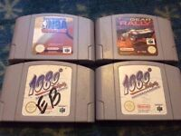 N64 GAMES FOR SALE / ALL DIFFERENT PRICES / CASH OR SWAP