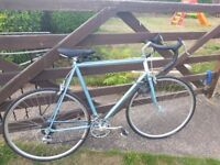 Man's racing bicycle in immaculate condition call Tafi to arrange a viewing bargain on 07