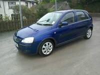 05 Vauxhall Corsa 1.2 Sxi 5 door Moted Aug 2017 Only 69000 mls ( can be viewed inside anytime)
