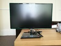 "Samsung 24"" Smart Full HD 1080p LED TV & Remote."